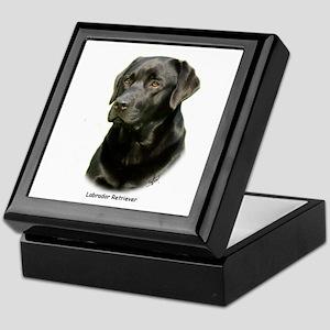 Labrador Retriever 9A054D-23a Keepsake Box