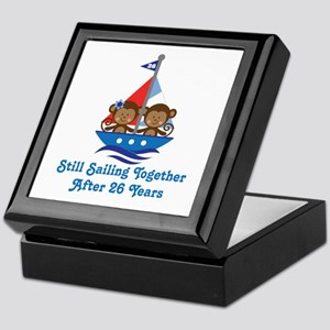 26th Anniversary Sailing Keepsake Box