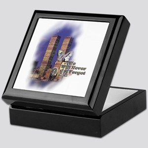 September 11, we will never forget - Keepsake Box