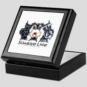 Miniature Schnauzer Lover Keepsake Box