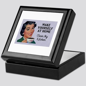Make Yourself At Home Keepsake Box