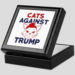 Cats Against Trump Keepsake Box