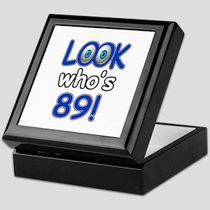 Look who's 89 Keepsake Box