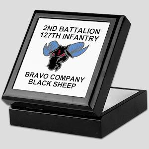 2-127th Infantry <BR>B Co. Insignia Box