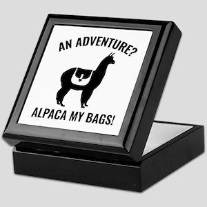 Alpaca My Bags Keepsake Box