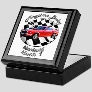 Ford Mustang Mach 1 Keepsake Box
