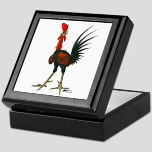 Crazy Rooster Keepsake Box