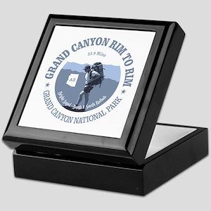Grand Canyon Rim to Rim Keepsake Box