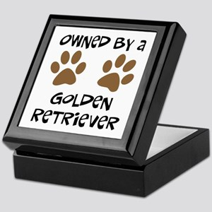 Owned By A Golden... Keepsake Box
