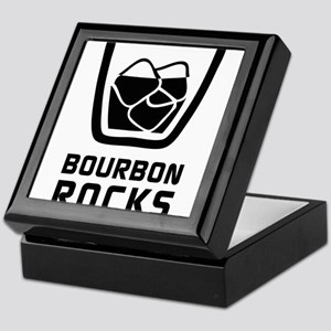Bourbon Rocks Keepsake Box