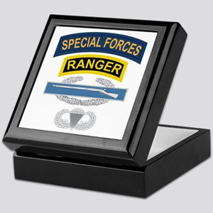 SF Ranger CIB Airborne Keepsake Box