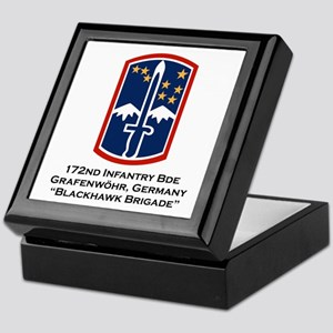172nd Blackhawk Bde Keepsake Box