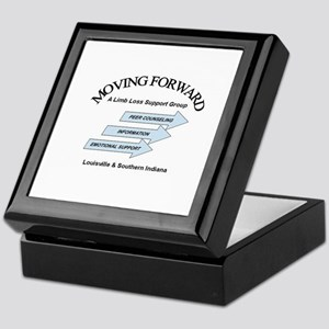 Moving Forward Logo Keepsake Box