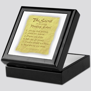 The Secret to Nursing School Keepsake Box