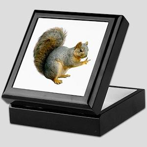 Peace Squirrel Keepsake Box