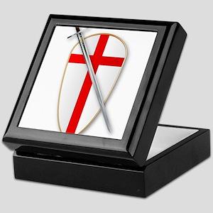 Crusaders Shield and Sword Keepsake Box