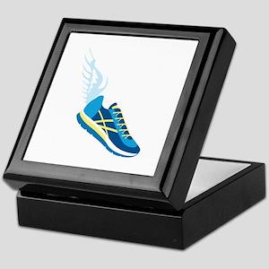 Running Shoe Wing Keepsake Box