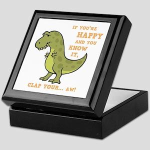t-rex-clap-2-DKT Keepsake Box