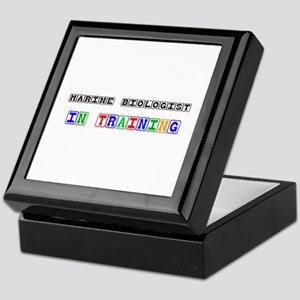 Marine Biologist In Training Keepsake Box