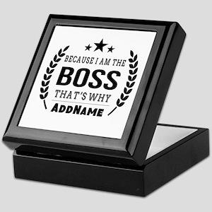 Gifts for Boss Personalized Keepsake Box
