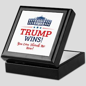 Trump Wins Keepsake Box