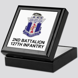 127th Infantry <BR>Medals &amp; Ribbons Box