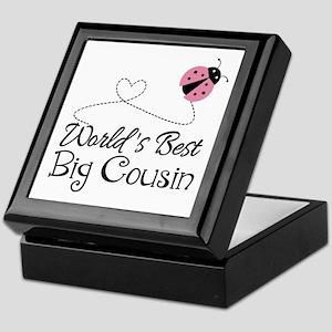 World's Best Big Cousin Keepsake Box