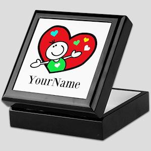 Happy Heart (p) Keepsake Box