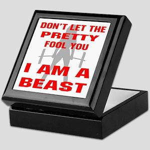 Female I Am A Beast Keepsake Box