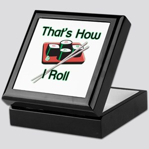 That's How I Roll (Sushi) Keepsake Box