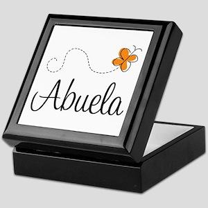 Abuela Butterfly Keepsake Box