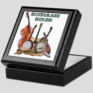 DAmbrosioArts_BluegrassRules_sm Keepsake Box