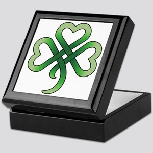 celtic clover Keepsake Box