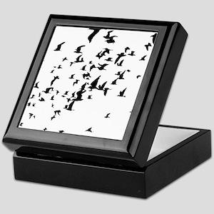 Birds Keepsake Box