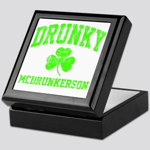 Green Drunky Keepsake Box