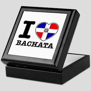 I love Bachata Keepsake Box