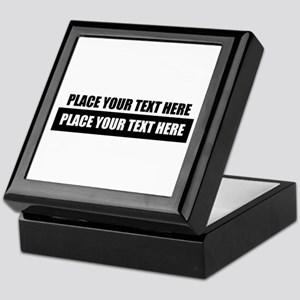 Text message Customized Keepsake Box