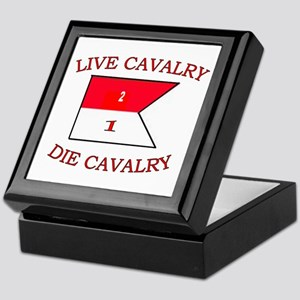 2nd Squadron 1st Cavalry Keepsake Box
