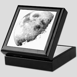 Eclipsing Moon Keepsake Box