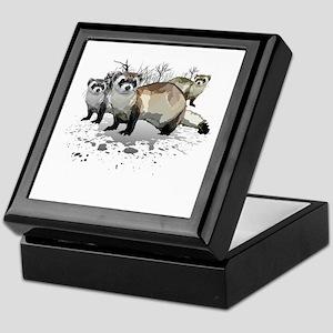 Ferrets Keepsake Box