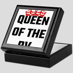 Queen Of The RV Keepsake Box