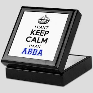 I cant keep calm Im ABBA Keepsake Box