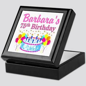 75TH CELEBRATION Keepsake Box