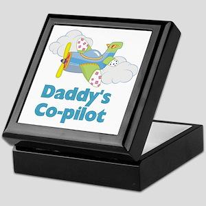 Daddys Co-pilot (boy) Keepsake Box
