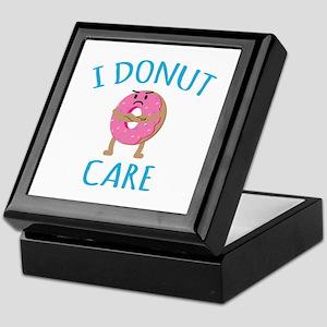 I Donut Care Keepsake Box
