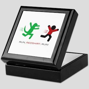 Run, Redshirt, Run! Keepsake Box