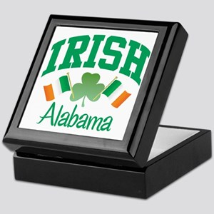 IRISH ALABAMA Keepsake Box