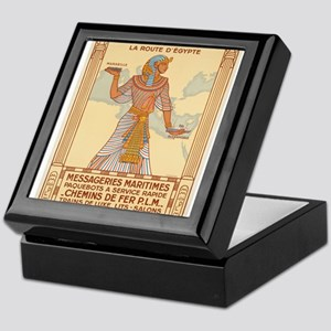 Vintage poster - Egypt Keepsake Box