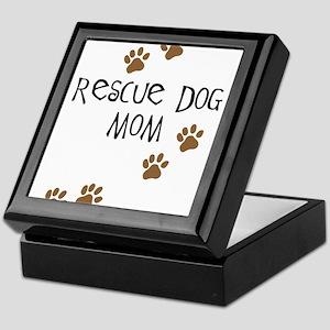 Rescue Dog Mom Keepsake Box