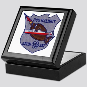 USS HALIBUT Keepsake Box